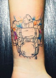 30 Travel Tattoo Ideas That Will Make You Want To Pack Your Bags ASAP