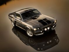 """A stunning Ford  Mustang """"Eleanor"""" so beautiful"""