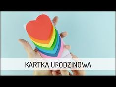 DIY Kartka Urodzinowa | DOMODI TV - YouTube Au Pair, Emoji, Minecraft, Origami, Diy And Crafts, Valentines Day, Cards, Gifts, Youtube