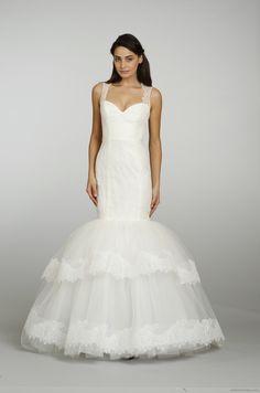 jlm couture - 2301 - Tara Keely 2013 #modern_wedding_dress #white_wedding_dress #special_wedding_dress