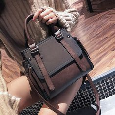18f03f434a LEFTSIDE Vintage New Handbags For Women 2018 Female Brand Leather Handbag  High Quality Small Bags Lady Shoulder Bags Casual