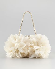 Judith Leiber Brooke Floral Clutch Bag