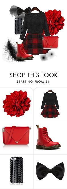 """""""Untitled #59"""" by aazalia ❤ liked on Polyvore featuring Alexander Wang, Dr. Martens, Savannah Hayes and New Look"""
