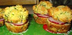 Radish Sandwiches on Zucchini Basil Muffins, Muffin Recipes, Sandwich Recipes, Radish Recipes, Tea Sandwich Recipes