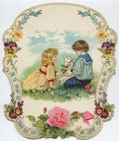 Victorian Scrap — Children (527x620)