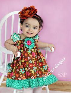 Sweet Nothings Halter Top/Dress Toddler Infant by JMBthreedesigns, $42.00