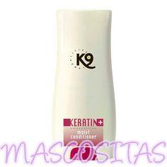K9 Keratin + Moisture Acondicionador. Es una super crema hidratante y acondicionador con una mezcla de queratina, proteínas y D-Pantenol que hace que el pelo quede increíblemente saludable y suave con un brillo espectacular.