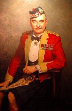Argyll and Sutherland Highlander Officer