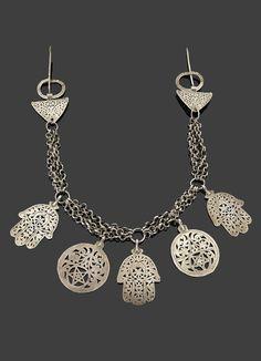 Tunisia | Fibula pectoral; silver | Sold (May '15)