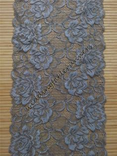 Grey Lace Table Runner By WeddingTableRunners / Shades