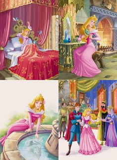 the disney princess Sleeping Beauty