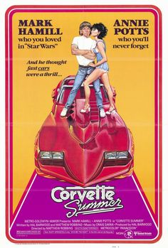 Corvette Summer 27x40 Movie Poster (1978) O MY GOSH.... I remember this movie!!!!!!!