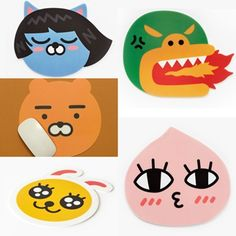 Kakao Friends Computer Laptop Mouse Pad Ryan, Neo, Apeach, Muzi, Frodo Tube, Con #KakaoFriends