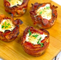 Breakfasts are (always) better when they're wrapped in bacon. Get the recipe.