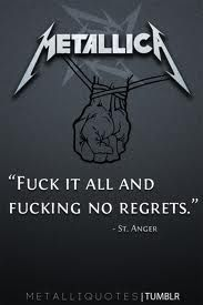 St.anger-May not be their best album but I still jam out to it and it's better than the crap rock we hear today
