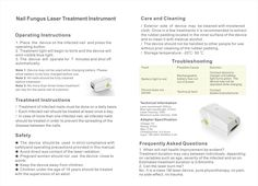 Nail Fungus Cold Laser Treatment Device Instrument/melissa@hnc.cn