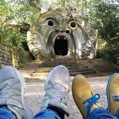 Non ho paura del mostro, ma ho paura di te. Pino Daniele #Nicedayin Park of Monsters, Bomarzo #pies #piedas #piedi #happyfeet #scarpe #shoes #selfeet #shoeselfie #footselfie #füße #live #ayaklar #feet #foot #trip #niceday #buonadomenica #fromwhereonestands #viaggi #globalyodel #bomarzo #parcodeimostri #parkofmonsters #tuscia #Viterbo #pinodaniele #holiday