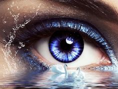 Vollmond - Tagesenergie heute am 31. Oktober 2020 - im Licht der Wahrheit Beautiful Eyes Color, Beautiful Girl Photo, Eyes Artwork, Cool Artwork, Eye Illusions, Clown Paintings, Butterfly Eyes, Watercolor Deer, Eyes Wallpaper