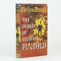 The Ordeal of Gilbert Pinfold by Evelyn Waugh, published 1957, first edition, dust wrapper by Val Biro, inscribed to Anthony Powell