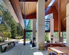 Australian modernist house danish interior -
