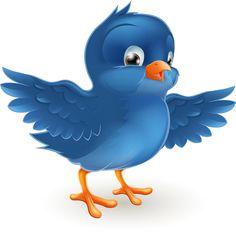 large blue bird png cartoon clipart 122 lady a little winter rh pinterest com cartoon bird clipart cartoon bird clipart