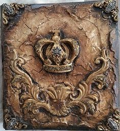 Michelle Butler Designs Decorative Crown Photo Album: