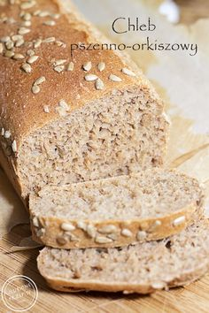 Totally Oatily Bread- Gorgeous loaf of bread infused with oats. Great all around bread! Bread Mix, Freshly Baked, Bread Baking, Banana Bread, Sandwiches, Food And Drink, Meals, Cooking, Desserts