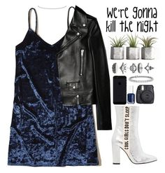 """""""Untitled #132"""" by kell-a ❤ liked on Polyvore featuring Hollister Co., Havva, Yves Saint Laurent, Anne Sisteron, Accessorize, Essie, Blue Nile and Fuji"""