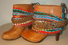 Is this Love?? Yes, yes I think it is. Custom Western Gypsy Style Boho Boots