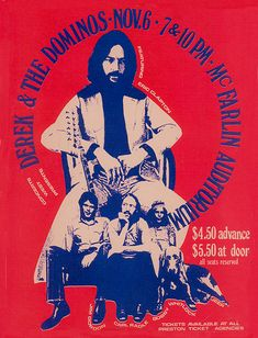 Derek & The Dominos 1970 Dallas Texas