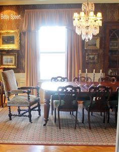 Betsy Speert's Blog: English Country Dining Room a la Betsy