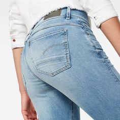 G STAR RAW D STAQ DC Stripe Skinny Pantalones para Mujer