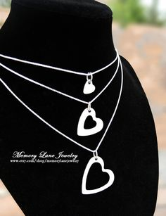 I+Carry+Your+Heart+Mother+Daughter+&+by+MemoryLaneJewelry+on+Etsy,+$48.00