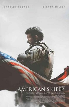 """A great American Sniper movie poster! Bradley Cooper stars as US Navy Seal Chris Kyle - the """"most lethal sniper"""" in US military history. Ships fast. 11x17 inches. Need Poster Mounts..?"""