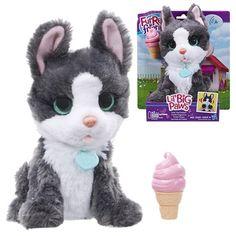 FurReal Friends Lil Big Paws Treat Time Frankie Hasbro FurReal Friends Plush