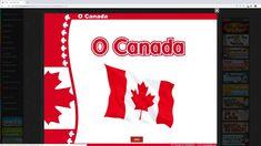 O Canada Interactive On Musicplayonline Interactive Activities Interactive Canada