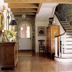 beautiful entrance and stairway