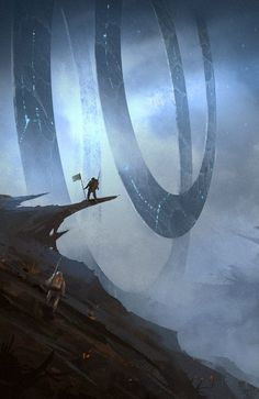 ArtStation - First Encounter, Hristo Chukov: