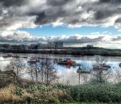 Today was a #beautiful #weather day  The #clouds soon cleared and though it was #cold the #sky was #blue  #Cardiff #wales #river #rivertaff #boats #sunrise #cardiffbay #cloudy #skyporn #cloudporn #hdr #hdr_lovers #hdr_captures #hdrporn #hdr_professional #fx_hdr #hdrphotography #tv_hdr #instawales #sun #sunshine #sunrise_sunsets_aroundworld #sunshine #snapseed #snapseedaily by carolineinwales