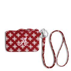 4c338852123 Collegiate Zip ID Lanyard. Alabama LogoAlabama Crimson TideZipper BagsMini BagRoll  TideCardinalsVera BradleyPolyvore