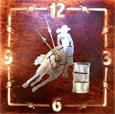 Barrel Racing Home Decor