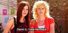 """When the week starts: 