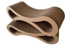 Infinity Cat Scratcher Lounge by Karma Products LLC  http://www.floppycats.com/infinity-cat-scratcher-lounge-by-karma-products-llc.html