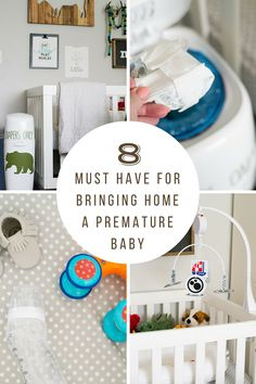 Bringing home a baby from the NICU? Here are 8 things you'll need to make life easier. #NurseryMust [ad]