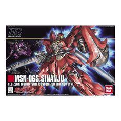 Bandai Hobby Gundam #116 MSN-06S Sinanju 1/144 HGUC HG Model Kit