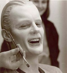 Photo essay: how make-up and visual effects brought Max Headroom to life | The Verge