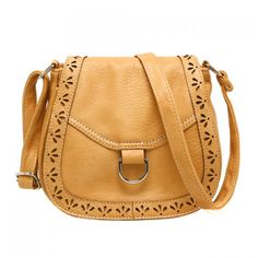 Vintage Openwork and Solid Color Design Women's Crossbody Bag (GINGER) in Crossbody Bags | DressLily.com