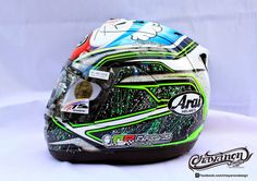 Arai RX-7RR5 (RX-GP) 2014 by Chayanon Design
