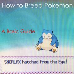 Learn the basics of how to breed #Pokémon, such as Egg Groups and hatching an Egg.