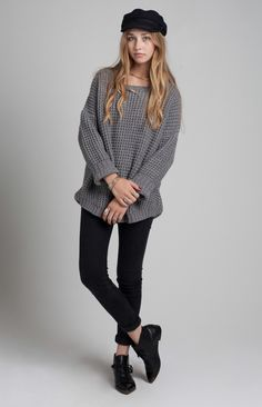 Purba Sweater - Heather Grey